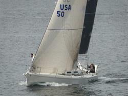 J/120 Time Bandit sailing Van Isle 360 race