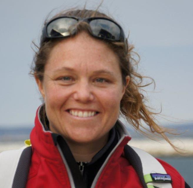 Sally Barkow- Team SCA Volvo Race