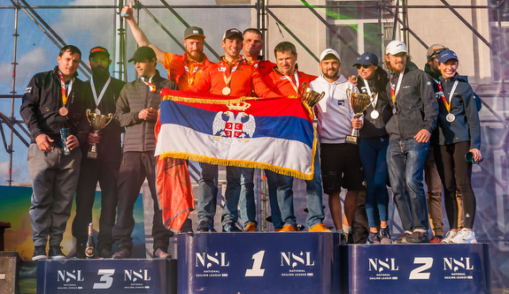 J/70 Sevastopol Regatta winners podium