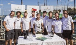 J/122 Artie Overall Winner Rolex Middle Sea Race