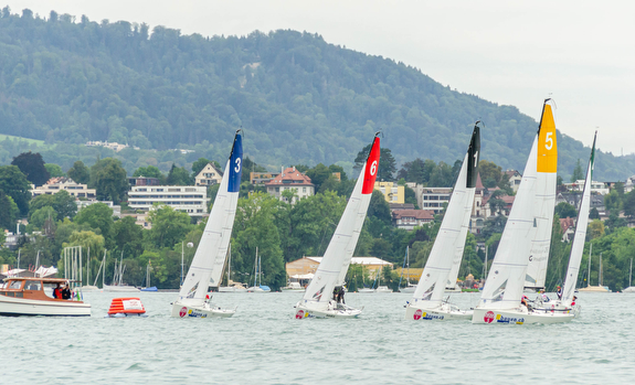 J/70s womens sailing teams- Swiss Women's Cup