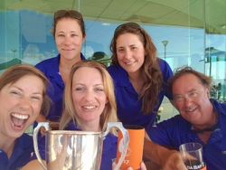Australia J/24 women's team