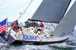 J/145 sailing Swiftsure Race