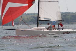 J/70 SPICE sailed by Holly Graf at Easter Regatta