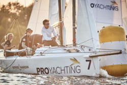 J/70 ProYachting winner- Team ss9- Valerya Kovalenko