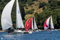 J/105 sailing Chiloe Regatta
