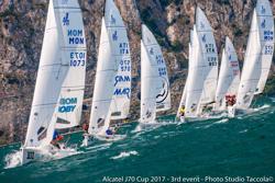 J/70 sailing Lake Garda
