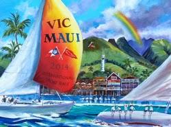 Vic Maui Race poster