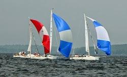 J/80s sailing downwind