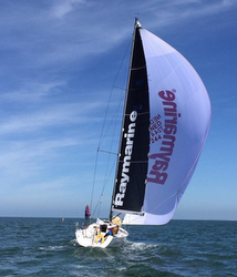 J/122E sailing RORC North Sea Race