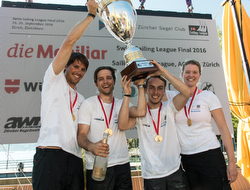 J/70 Swiss Sailing League winners