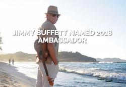 Jimmy Buffet - singer- St Barth ambassador