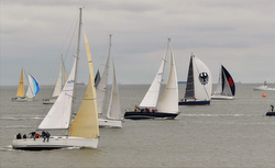 Harvest Moon Regatta start