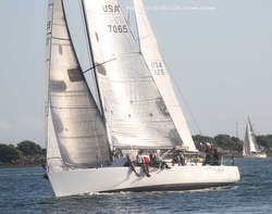 J/125 sailing San Diego YC Hot Rum series