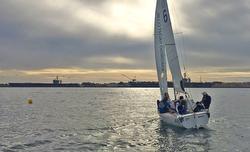 J/22 sailing San Diego YC Match Race series