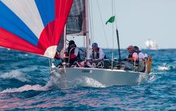 J/92 sailing Nassau Cup Race