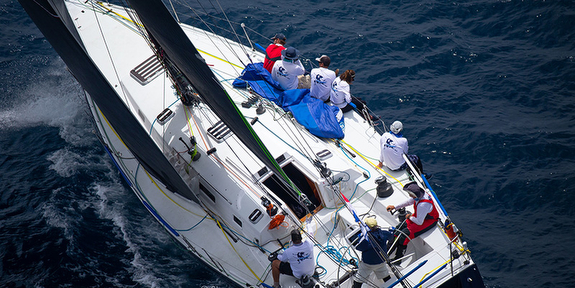 J/145 sailing Transpac Race