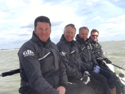 J/70 Team RAF Spitfire- with Simon Ling, captain