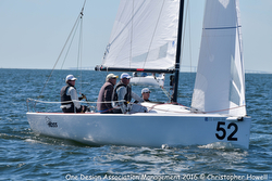 J/70 HOSS sailing Midwinters in St Petersburg, FL