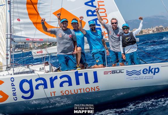 GRUPO GARATU Triumphs @ Copa del Rey