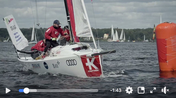 German J/70 sailing league video- Berlin