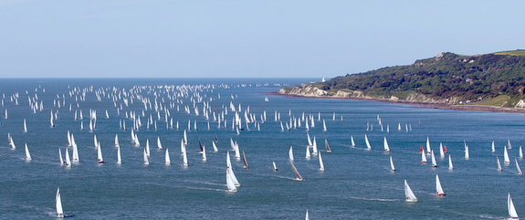 Round Island Race- Cowes, Isle of Wight, England