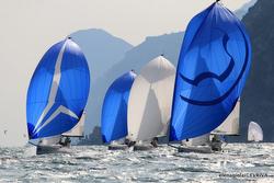 J70s sailing Lago di Garda