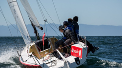 J/70 Santander sailing Chiloe Regatta in Chile