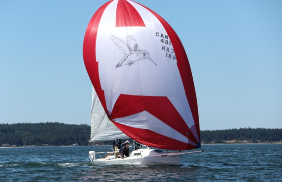 J/80s sailing Whidbey Island Race Week