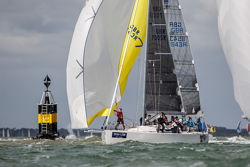 JBoats sailing at Cowes