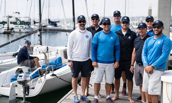 J/70 North Sails testers
