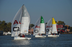 J/70 Junior League sailing in Germany