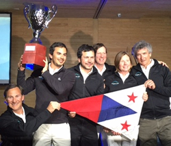 J/105 Patagonia Virgin- winner of Chiloe Regatta
