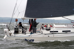 J/120 Windborn sailing Annapolis Newport race