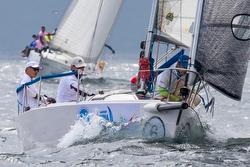 J/80s sailing China Cup