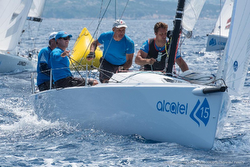 J/70 Alcatel Cup sailing Italy