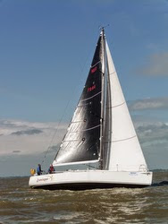 J/teams sailing RORC Cervantes race