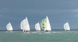 J/24s sailing Italy