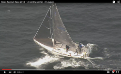 J/105 Jester flying upwind in Fastnet Race