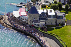 Royal Yacht Squadron- the Castle- Cowes, England