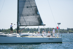 J/111 sailing Ida Lewis Race