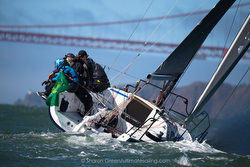 J/88 sailing San Francisco Bay