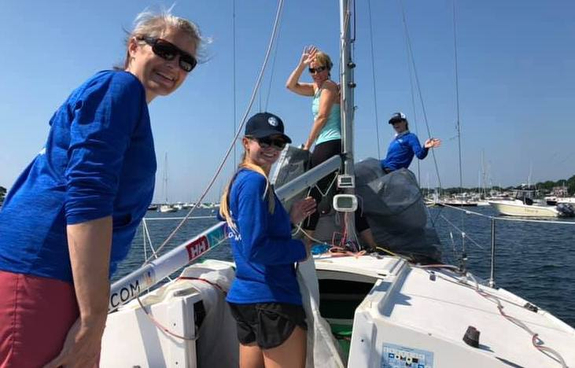 J/24 Sea Bags Women's Sailing Team