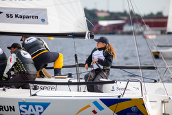 Swedish  J/70 Sailing League woman skipper