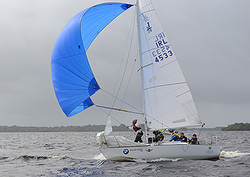 J/24 Irish Westerns finish