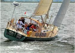 J/46 sailing offshore