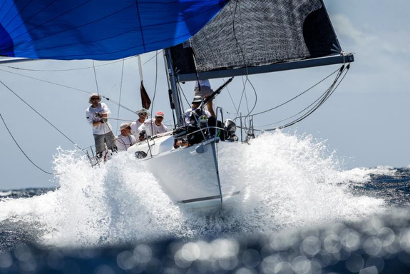 J/111S sailing Antigua Race Week