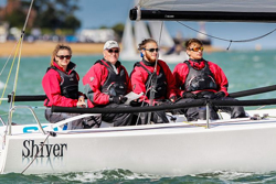 J/70 sailing Cowes Week