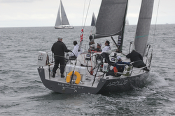 J/121 Apollo winning at Bermuda Race start