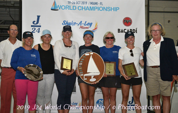 J/24 Worlds- Women's winners